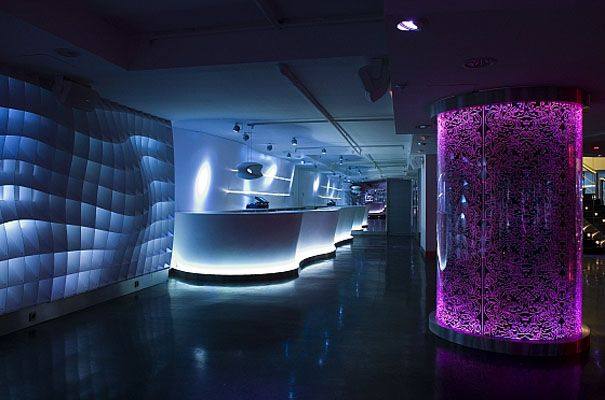 Nightclub Lobby Office Design Lobby Pinterest Lobbies - Bar design tribe hyperclub by paolo viera
