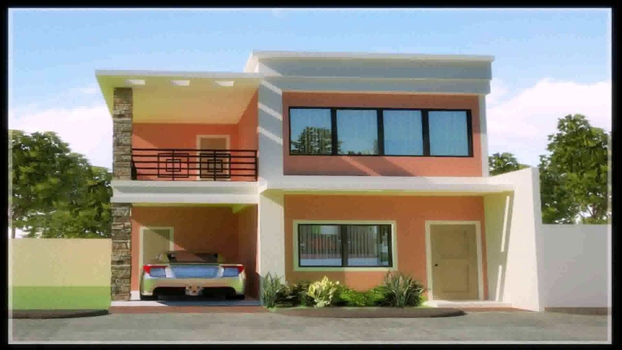 Luxury simple two storey house design in the philippines