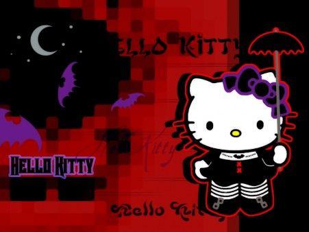 Fotos de Hello Kitty Gótica