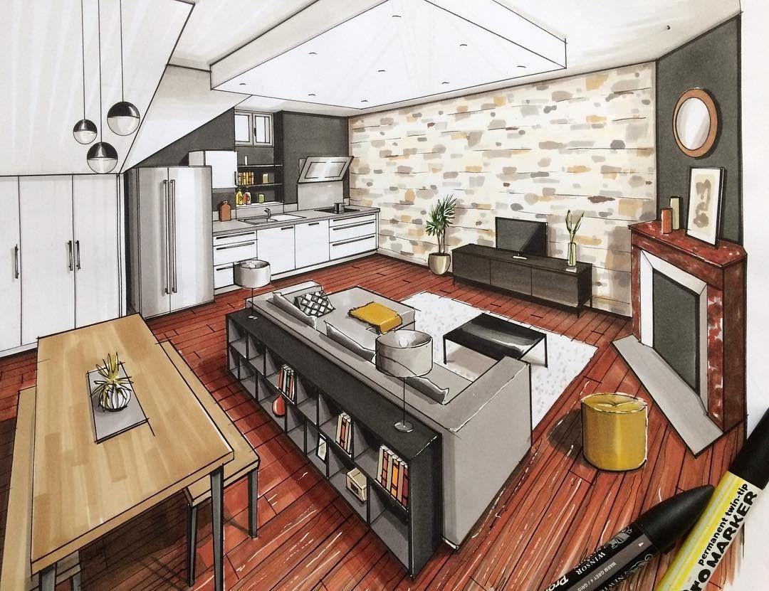 A Passion For Interior Design Drawings Interior Design Presentation Interior Design Drawings Interior Architecture Design