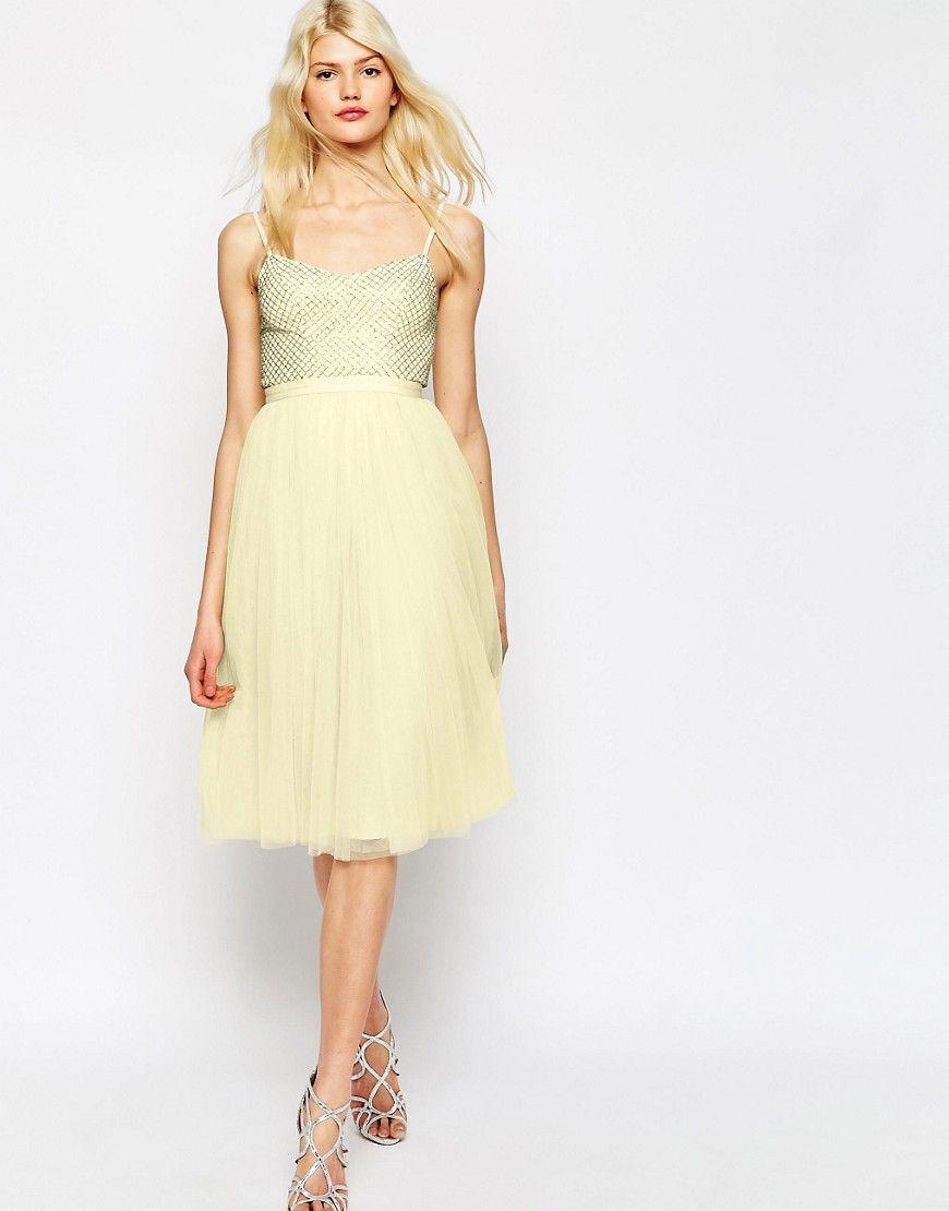 ef2a3de2840ee Vestido de tul estilo ballet con adornos Coppelia de Needle ...
