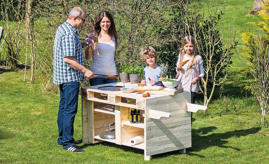Bauhaus Gartenmobel Set Amy : Paletten Küche anleitung wie man ein weinregal aus holz mit paletten
