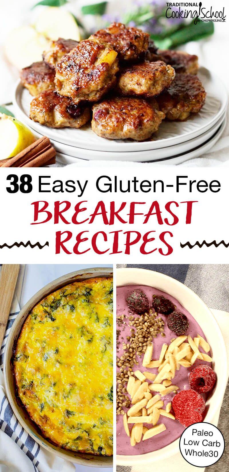 gluten free breakfast recipes for a crowd