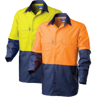 Rip Stop Cool Performance Hi Vis Shirt Ds2169 Shirts Work Wear
