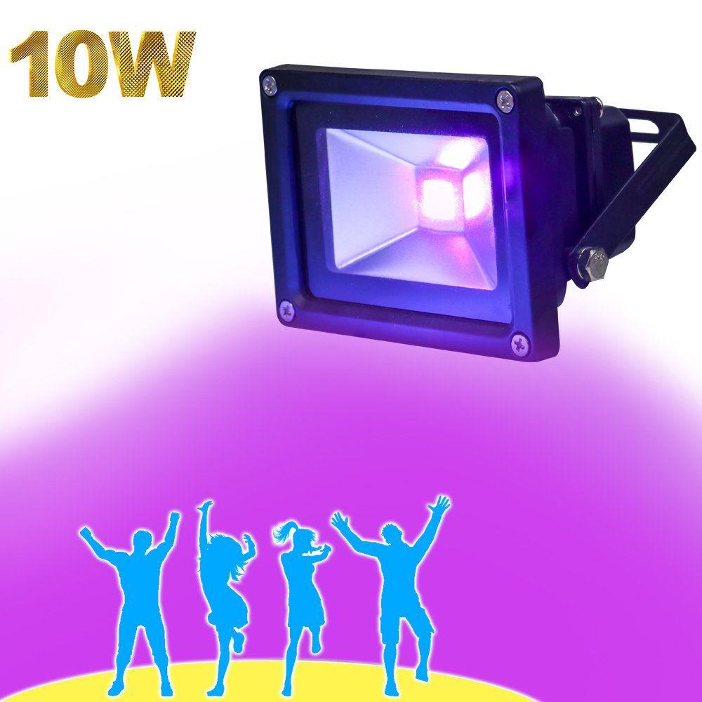 YQL Outdoor UV Black Light10W Ultra Violet LED Flood LightBlacklihgts for DJ  sc 1 st  Pinterest & YQL Outdoor UV Black Light10W Ultra Violet LED Flood Light ...