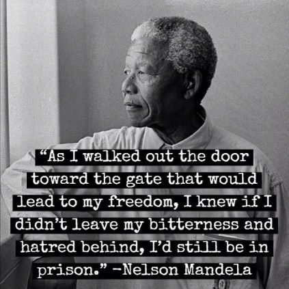 Free Yourself From The Imprisonment Of Ego Famous Quotes Mandela