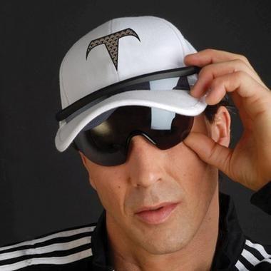 Suncaps The Hat With Built In Sunglasses Craziest Gadgets Sunglasses Hats Weird Gadgets