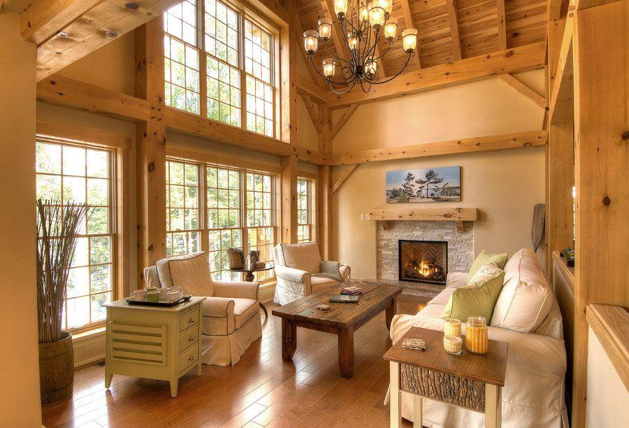 Timber Frame Interior Design #gbenterprize #timber #kitchen ...