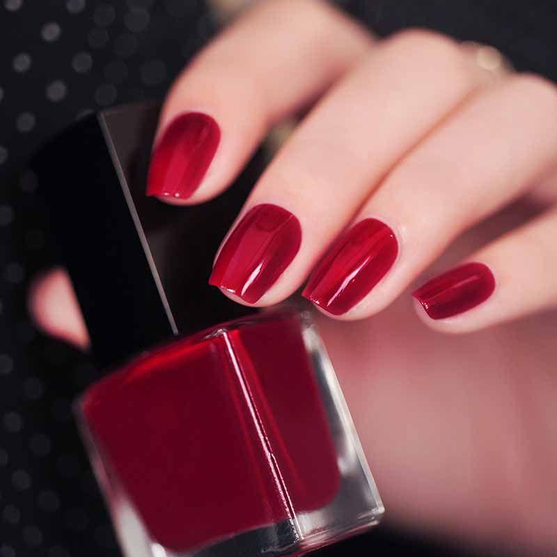 1PCS Famous Brand Red Style Nail Polish 15ml Quickly Dry 12 color ...