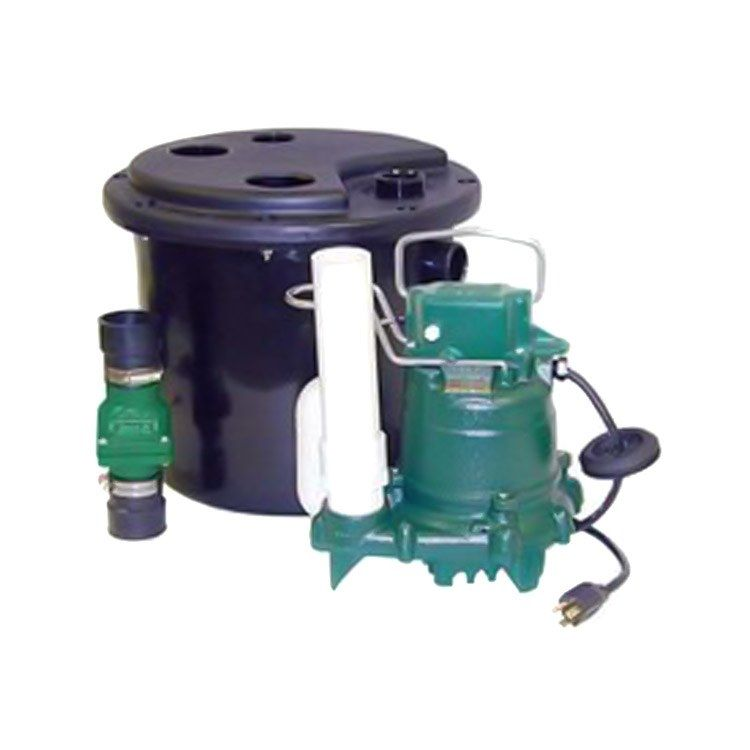Model 105 Drain Pump System With Sump Pump And Basin In 2020