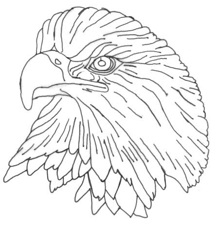 Free wood burning tracing patterns ealgehd jpg for Easy relief carving patterns