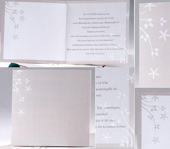 08 Hochzeitskarten Einladung Ornament Blume Beige Rustikale Hochzeit  Drucken Hochzeit In Beige U2013 Naturfarben Hochzeit Inspiration