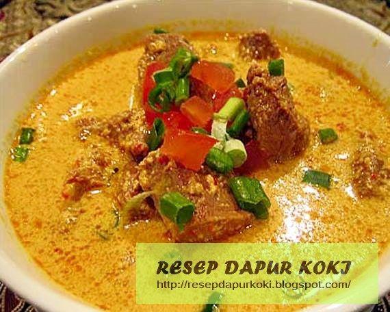 Resep Cara Membuat Gulai Gule Kambing Resep Masakan Gulai Resep Masakan Indonesia
