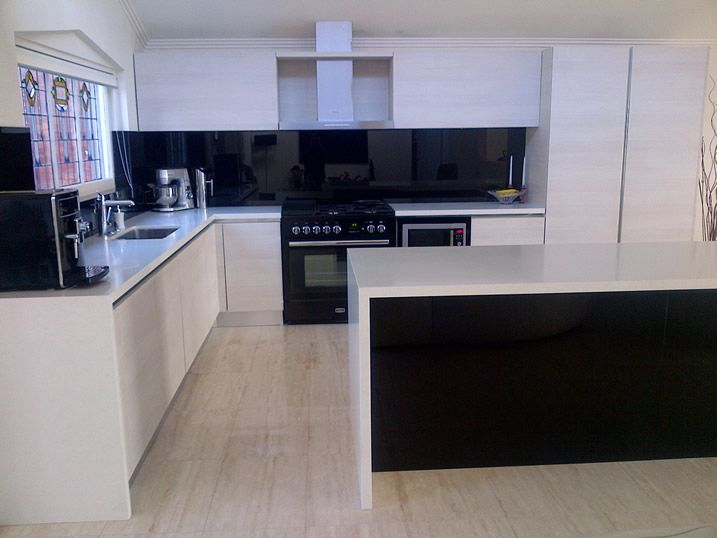 Projects Miton Black And White Kitchen Kitchens