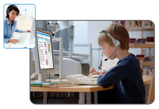 Children can get an online tutor to help them understand better without leaving their home.
