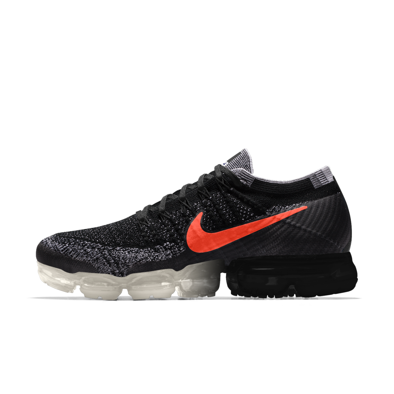 Nike Air VaporMax Flyknit X JFS iD Running Shoe. Nike.com