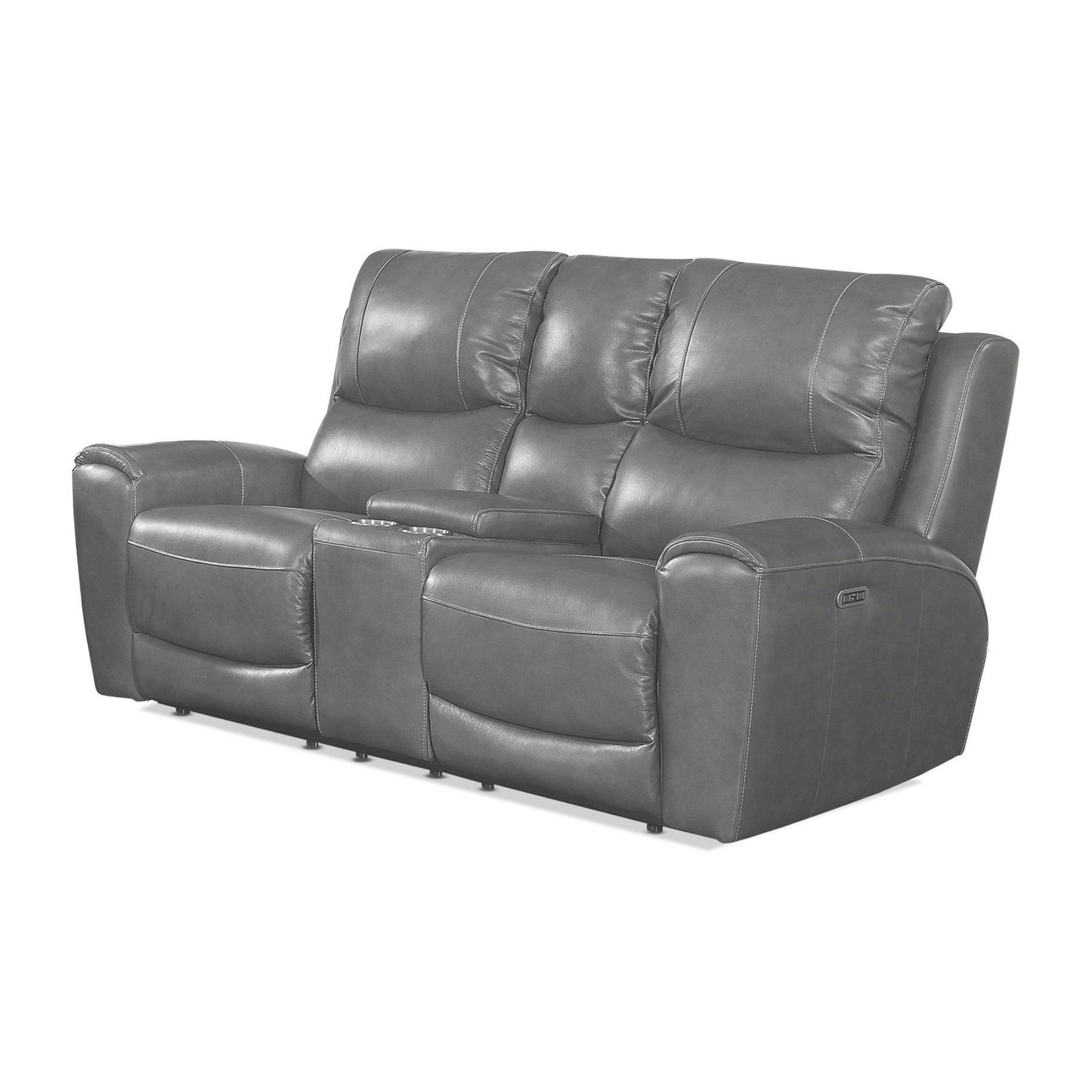Steve Silver Co. Laurel Upholstered Power Reclining Console