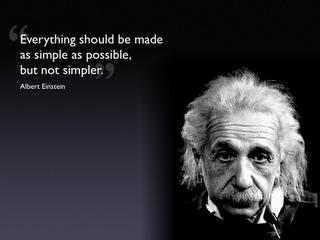 Albert Einstein...