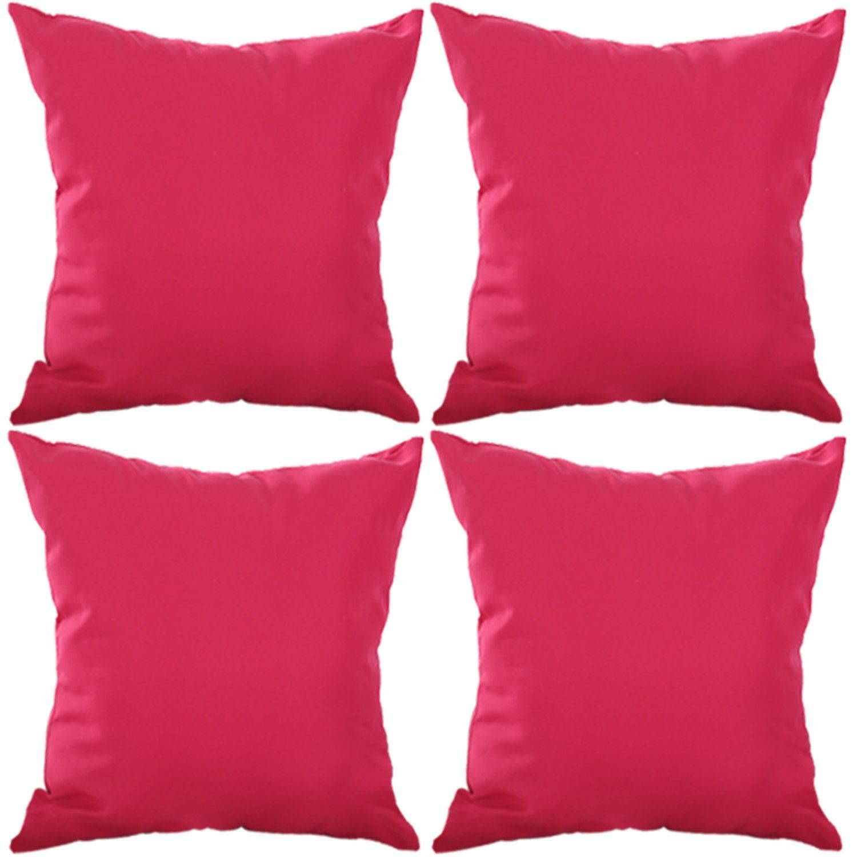 Deconovo Microfiber Soft Cushion Covers Decoration Pillow Cover ...