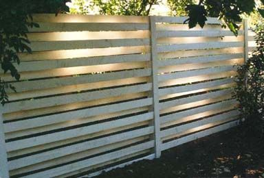 horizontal privacy fence ideas Fence Designs New Zealand Build