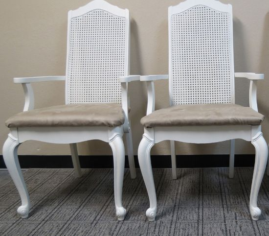 Recovering Refinishing Dining Chairs