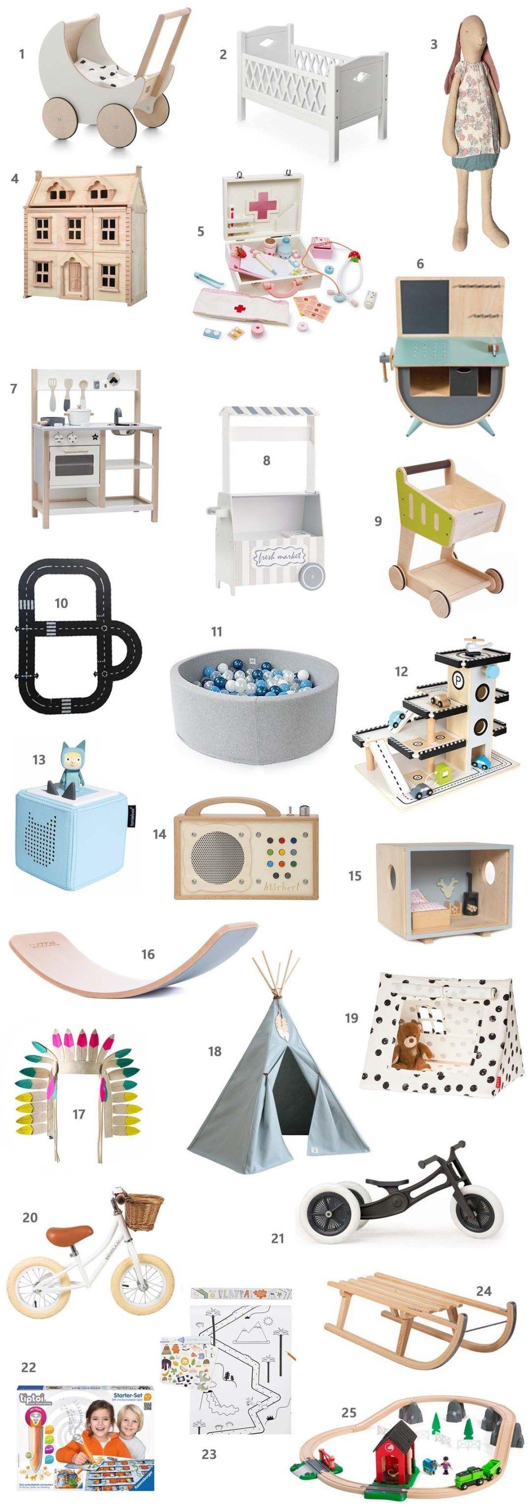 Die schönsten Weihnachtsgeschenke für Kleinkinder - Mini & Stil