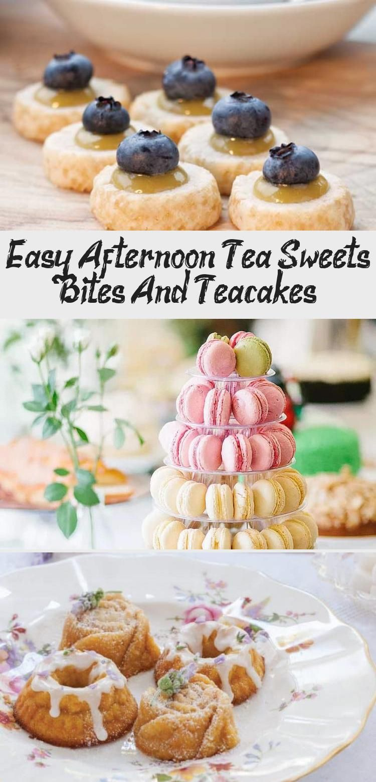 Make Ahead Tips and Recipes for Afternoon Tea Sweets Course -- Easy Afternoon Tea Sweets Bites and Teacakes | 31Daily.com #afternoontea #tearecipes #desserts #easyrecipes #31Daily #