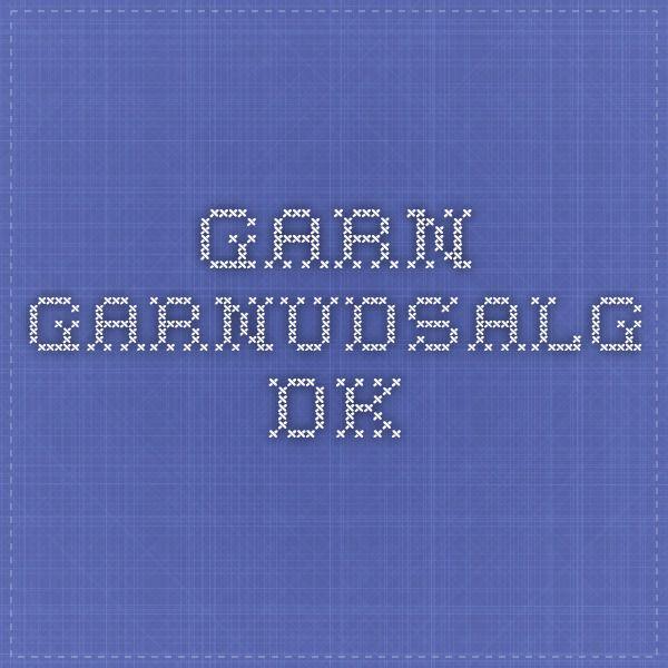 Garn. garnudsalg.dk