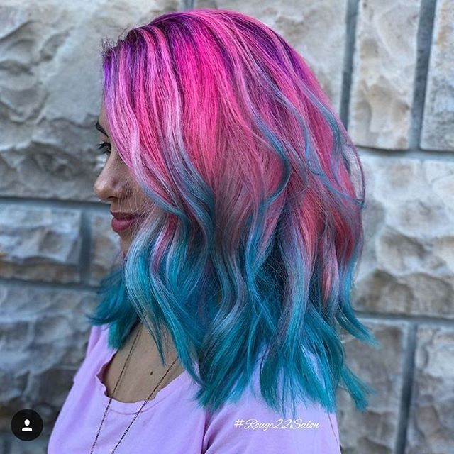 Pin on Vibrant Hair Color