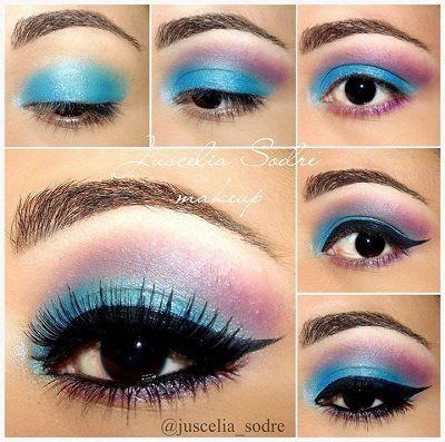 Maquillaje de Victoria\u0027s Secret en ojos ahumados Fotos de moda