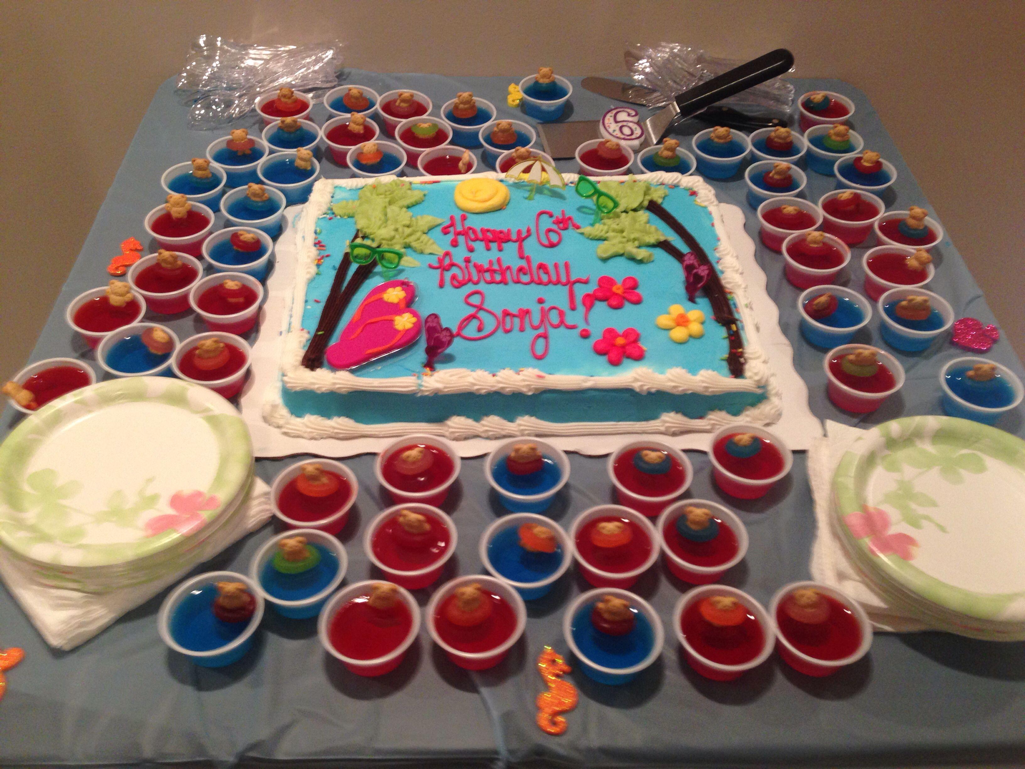 Beach themed cake from SAMs Club!