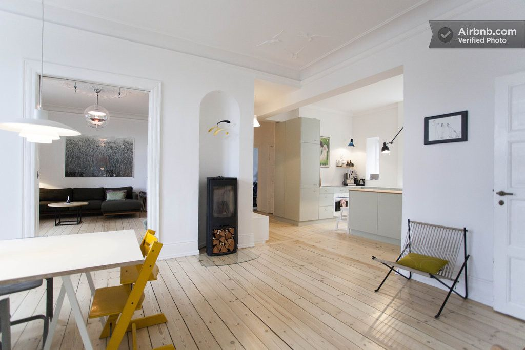 Apartment in Kopenhagen, traveling with kids