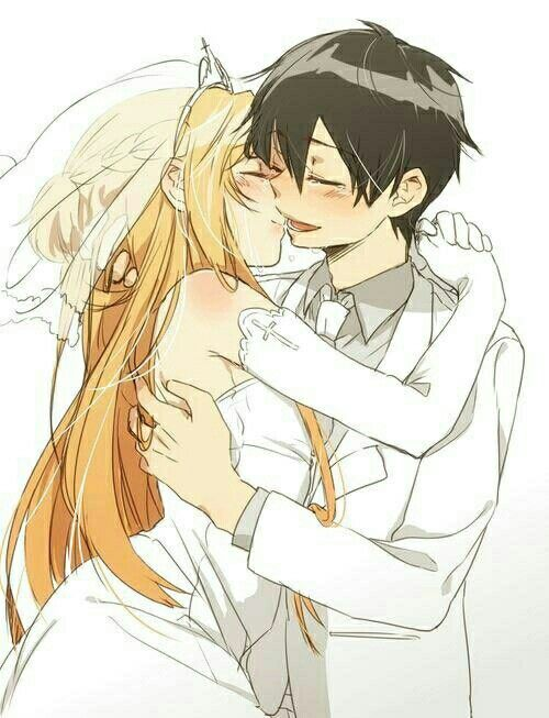 OMG Anime Couple Kirito X Asuna