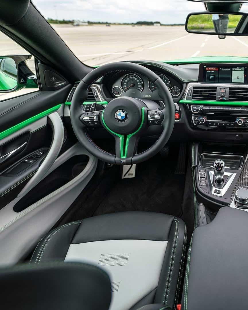 2016 Bmw M3 Interior : interior, Fiendishly, Contrast, Interior, Individual, Signal, Green., Coupé., #BMWM, #BMWIndividua…, Coupé,, Interior,