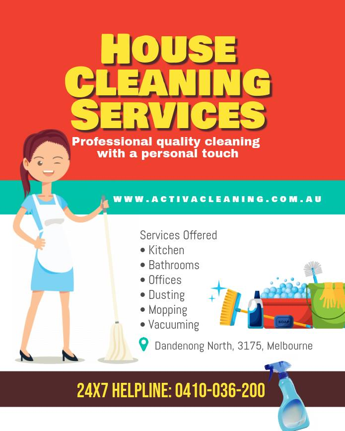 ActivaCleaning is a onestop solution for all your house