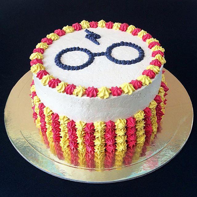 Pic Only Harry Potter Birthday Cake Harry Potter Desserts