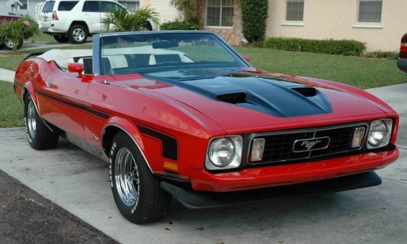 I love you and want you in my Life1973 Ford Mustang