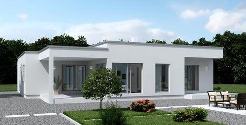 Casa prefabbricata moderna in polistirene a un piano - Casa prefabbricata moderna ...