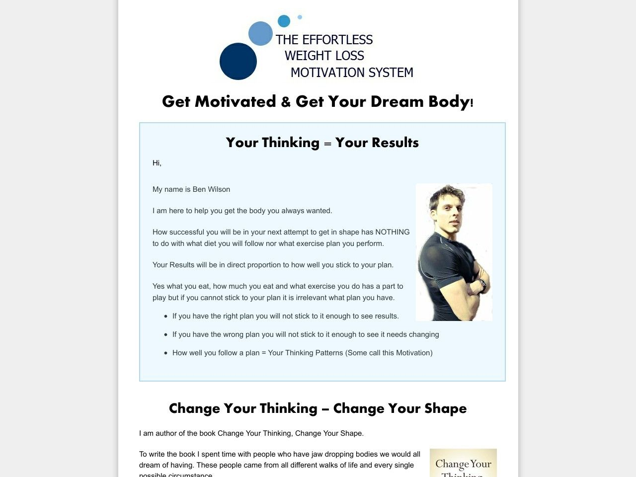 ① Weight Loss Motivation And Behaviour Change - http://www.vnulab.be/lab-review/%e2%91%a0-weight-loss-motivation-and-behaviour-change