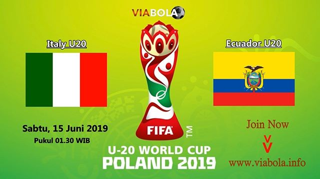 U20 WORLD CUP 2019 Italy U20 VS Ecuador U20 Bonus Deposit