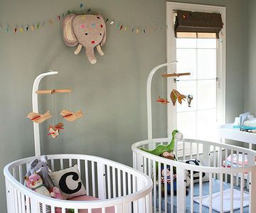 twins nursery furniture. A Twin-tastic Nursery For Lucky Boy And Girl Twins Furniture