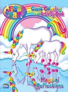 Lisa Frank Magical Reflections Giant Coloring And Activity Book