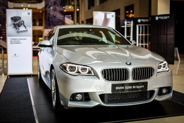 Bmw 5 Series F10 Facelift Introduced In Malaysia 520i Rm370k