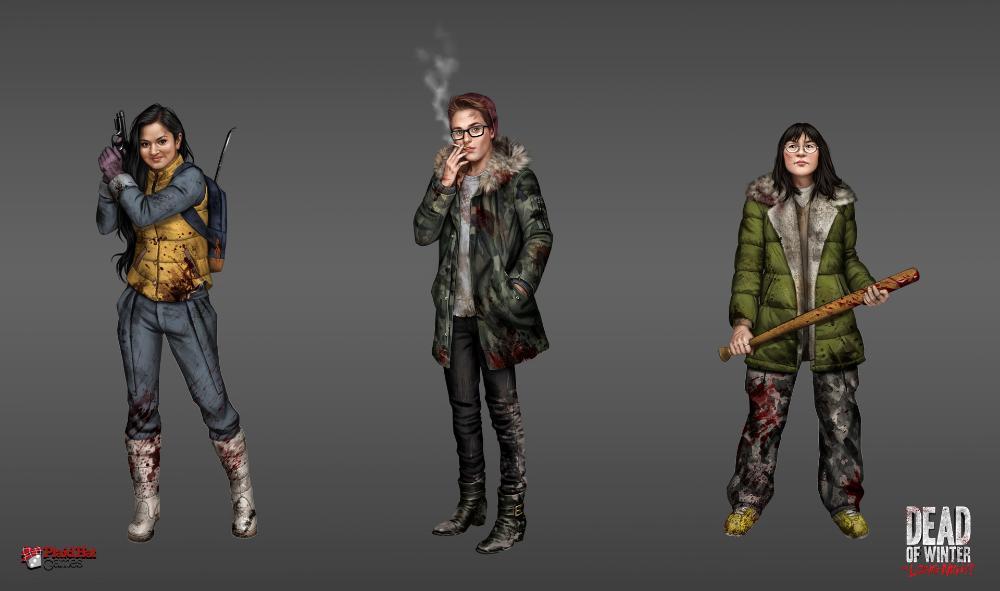 ArtStation Dead of Winter The Long Night characters 2