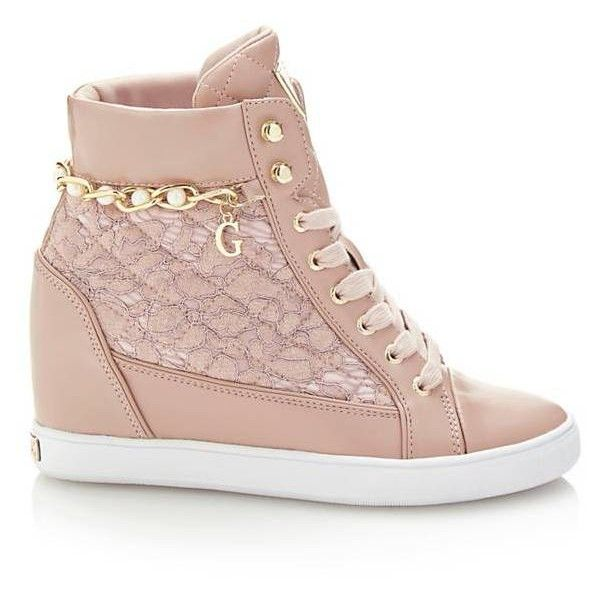 FORTY LACE WEDGE SNEAKER ( 150) ❤ liked on Polyvore featuring shoes ...