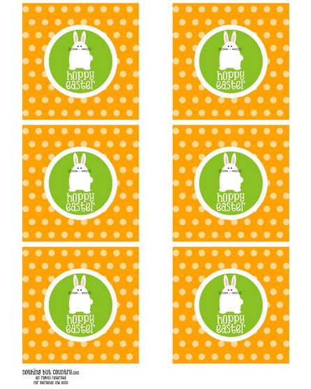Free easter gift tag label printable art and crafts pinterest free easter gift tag label printable negle Images