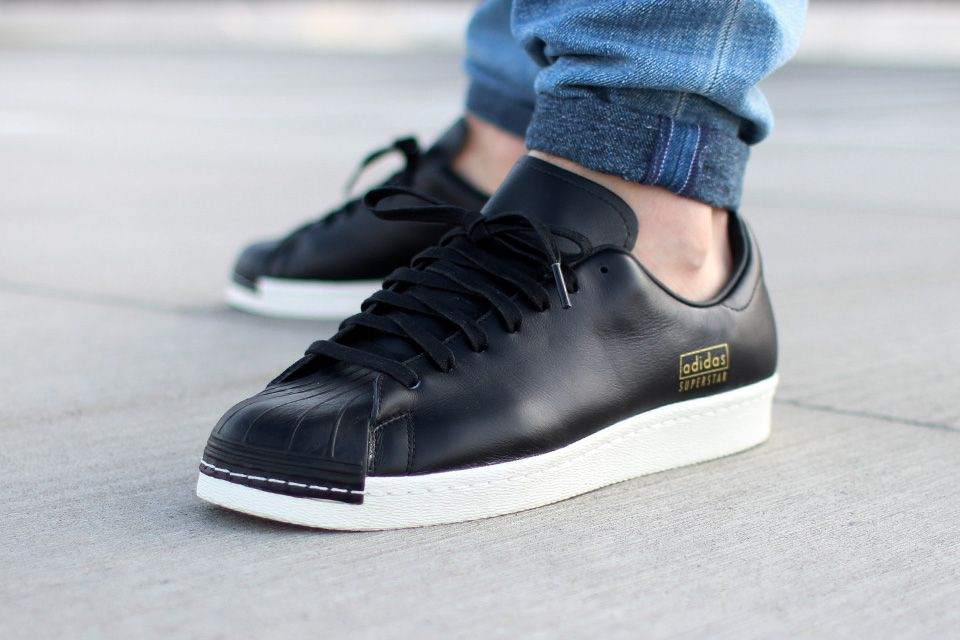 Adidas SUPERSTAR 80S CLEAN Original Superstars. : Schuhe
