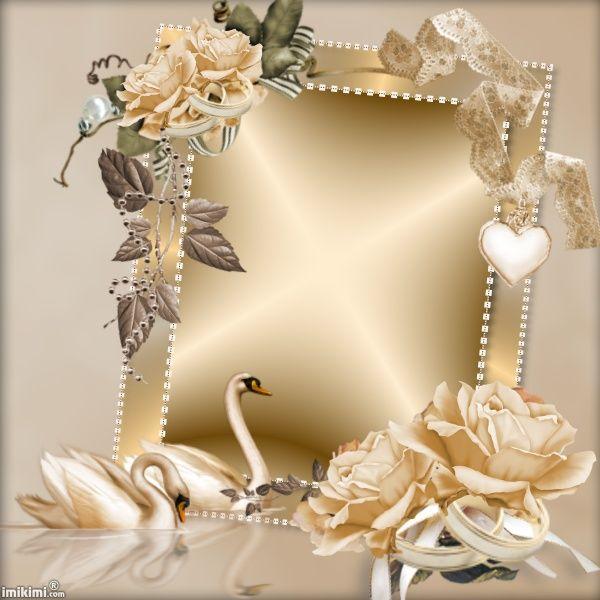 Imikimi Com Sharing Creativity Wedding Frames Picture Frame Decor Wedding Cards