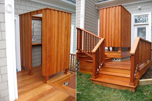 Put A Spring In Your Step And Step Into Our Decking Specials Backyard Remodel Deck Outdoor Shower
