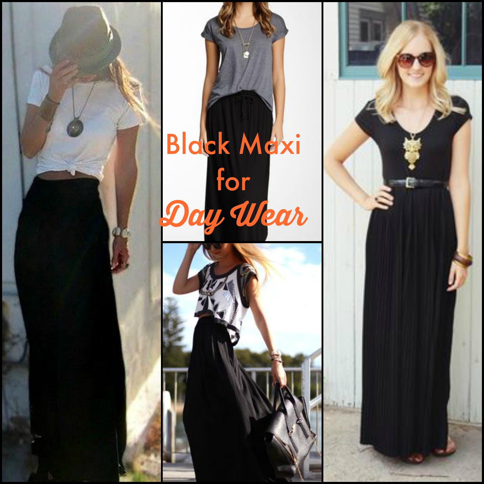 Can i wear a black maxi dress to a wedding